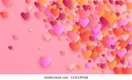 Happy Valentines Day Background Illustration Your Stock Vector