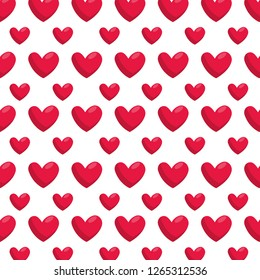 hearts love pattern background