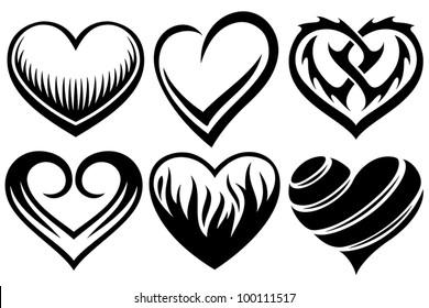 Heart Tattoo Images Stock Photos Vectors Shutterstock