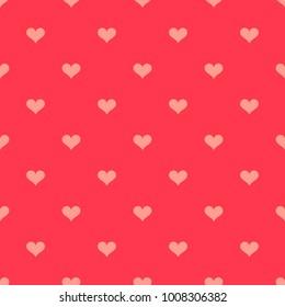 Hearts texture pattern. Vector illustration