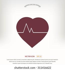 hearts vector icon