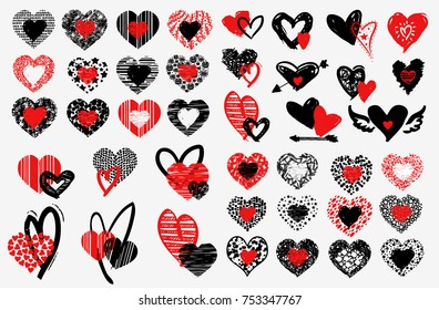Mexican sacred heart seamless pattern stock photo edit now