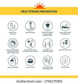 Heat Stroke Prevention Images Stock Photos Vectors Shutterstock