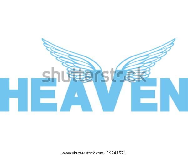Heaven Word Blue