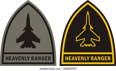 Heavenly ranger - military patch
