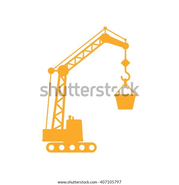 Excavator loading heavy duty truck with ore Clip Art | k64650467 |  Fotosearch