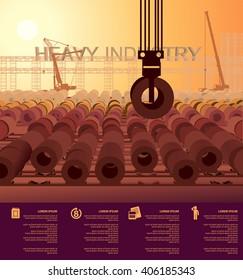 heavy industry steel