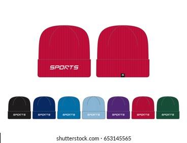 Heavy Rib Beanie // with team-wear colors