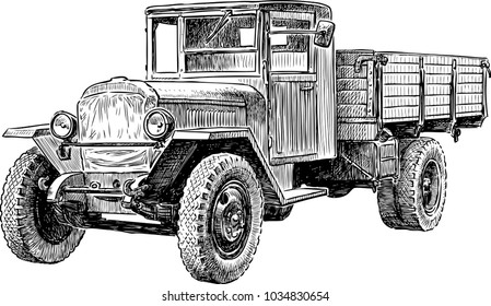 Heavy truck of the Second World War
