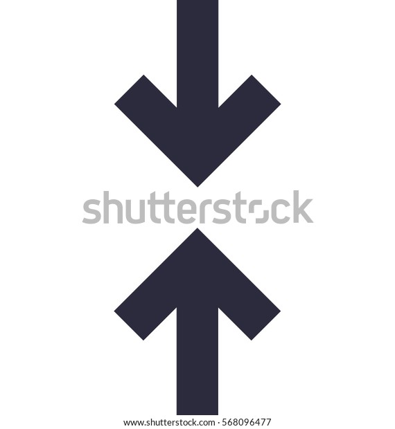 Height Vector Icon