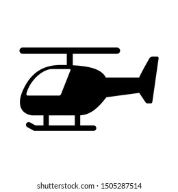 helicopter icon - From Transportation, Logistics and Machines icons set