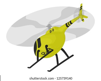 Helicopter (in flight)