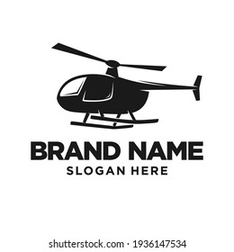 Helicopter Logo Design Template Inspiration, Vector Illustration.