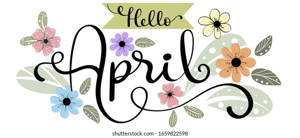 April Month Images, Stock Photos & Vectors | Shutterstock