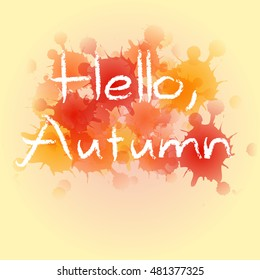 HELLO, AUTUMN