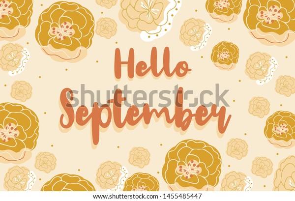 Vector De Stock Libre De Regalías Sobre Hello Autumn