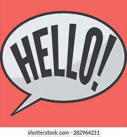 Hello In Dialog Box