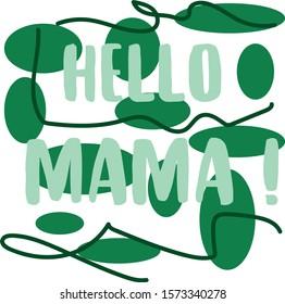 Hello Mama Writing language merhaba chiao No English
