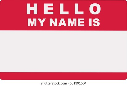 Hello. My name is. Tag Lable.