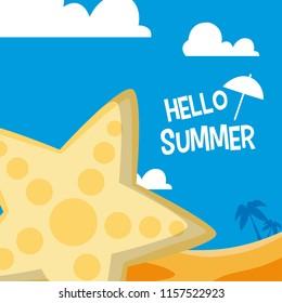Hello sumer card