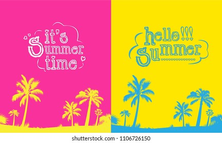 Hello summe flyer cover