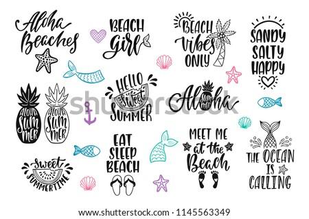 Hello summer beach vibes
