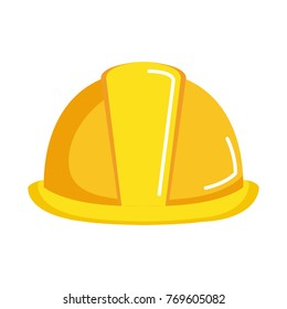 helmet construction isolated icon