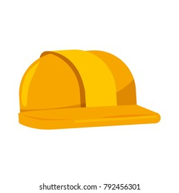 helmet construction isolated icon