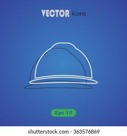 Helmet engineer icon