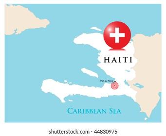 Help for Haiti,vector illustration