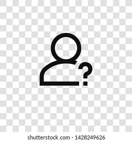 help icon from miscellaneous collection for mobile concept and web apps icon. Transparent outline, thin line help icon for website design and mobile, app development