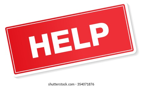 Help Label, Banner