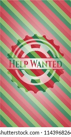 Christmas Help Wanted.Help Wanted Christmas Stock Illustrations Images Vectors