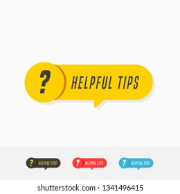 Helpful Tips Tags