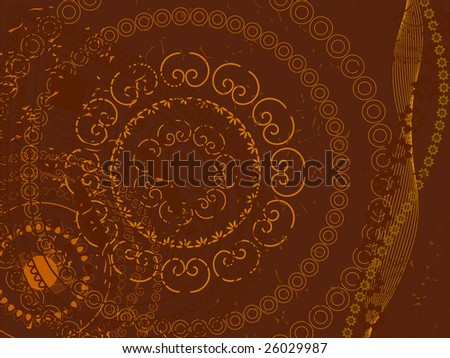 Henna Background Stock Vector Royalty Free 26029987 Shutterstock