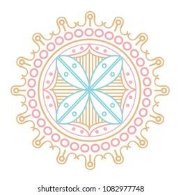 Henna Emblem Icon