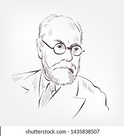 Henri Matisse vector sketch portrait illustration