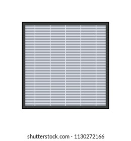 HEPA Air Filter icon. Clipart image isolated on white background