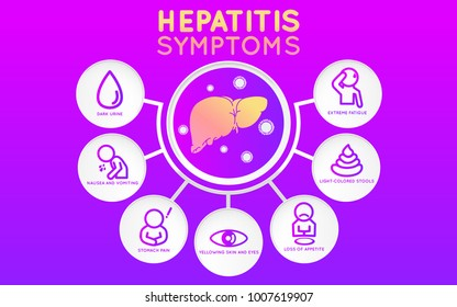 Hepatitis icon design, infographic health, medical infographic. Vector illustration