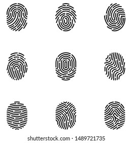 Here is biometrics icons pack in line design, a very interesting and modifiable set.