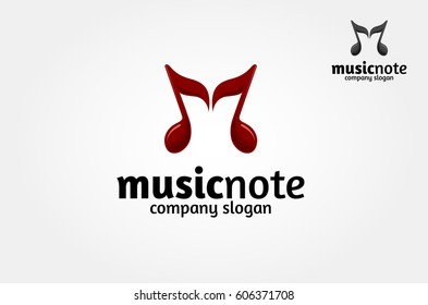 Here is an Music Note Logo for you to use to your needs. A nice logo for any kind of sound studio.