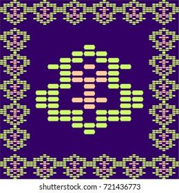 Heritage Pattern Purple