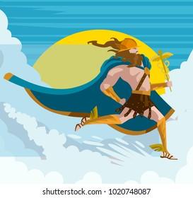 hermes mercury greek mythology messenger of gods