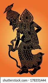 Hermit shadow puppet (Thai: Nang Talung) was one form of public entertainment in the south of Thailand.