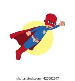 hero guy cartoon