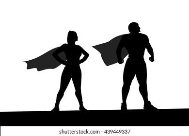 heroes silhouette 3
