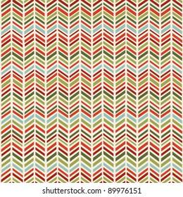 Herringbone Christmas seamless pattern
