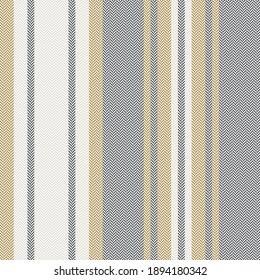 Herringbone stripe pattern in grey and gold. Textured seamless background graphic for blanket, throw, duvet cover, pyjamas, or other modern autumn winter fashion textile design.