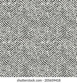 Herringbone textured seamless pattern. Vector.