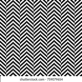 Herringbone Woven Seamless Swatch Pattern Vector Illustration